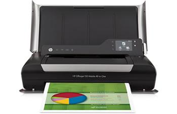 Transportabler Drucker von HP